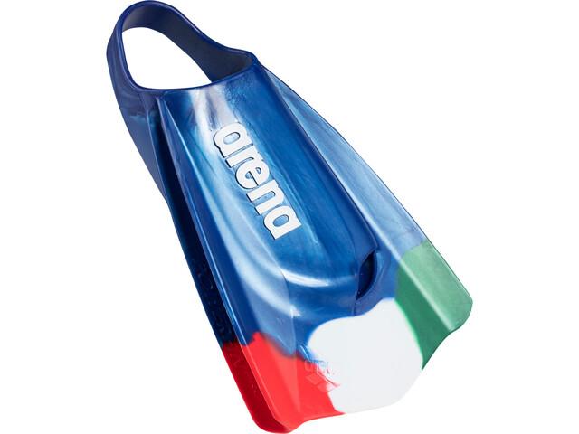 arena Pro Fed Aletas, azul/Multicolor
